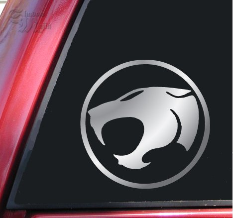 Thundercats  on Thundercats Vinyl Decal Sticker   Shiny Chrome   Car Stickers