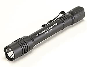 "Streamlight 88033 Protac Tactical Flashlight 2AA with White LED Includes 2 ""AA"" Alkaline Batteries and Holster, Black"
