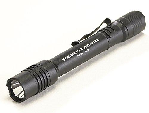 ProTac 2AA White LED, Black, 155 Lumens