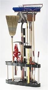 Rubbermaid 30-Tool Corner Tool Rack (FG5A4700MICHR)