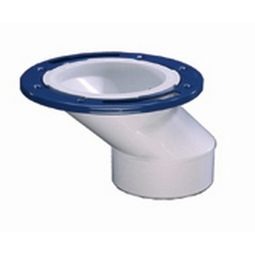 Ips inch pvc offset closet flange with