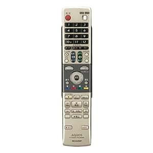 シャープ DVD用純正リモコン 0046380191 GA616PA
