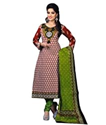 Airfashion Women's Unstiched Dress Material (SG-712_Multi_Free Size)
