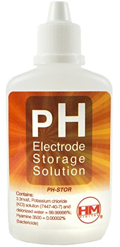 HM Digital PH-STOR pH Electrode Storage Solution for Use with PH-200 or PH-80, 60cc Volume