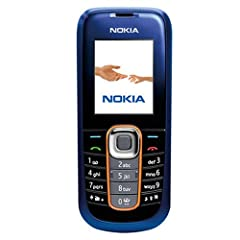 Nokia 2600 classical Handy (Kamera, Bluetooth) midnight-blue ohne Branding