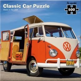 classic car jigsaw puzzle vw bus 500 piece. Black Bedroom Furniture Sets. Home Design Ideas
