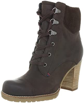 Tommy Hilfiger WILMA 4 FW56814826, Damen Fashion Halbstiefel & Stiefeletten, Braun (COFFEE BEAN 212), EU 36