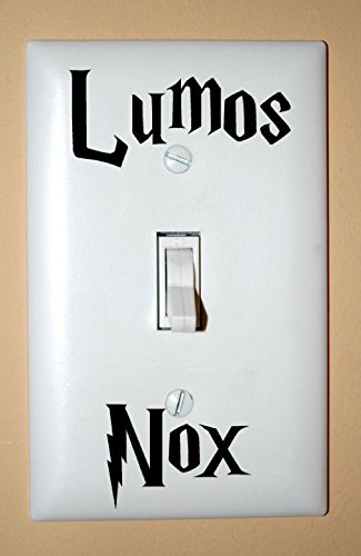 Lumos Nox Lightswitch Vinyl Decal Sticker front-1037704