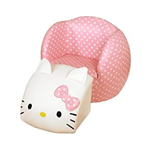 Hello Kitty®peek-aboo Chair+ottoman from Najarian Furniture Co.,Inc.