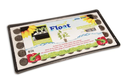 Hydrofarm JSEF55 Smart Float Grow Tray with Plugs