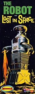Lost in Space Robot Model Kit - Novelty DIY Build Kit by MOEBIUS MODEL