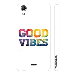 Micromax Canvas Selfie Lens Q345 Good Vibes designer mobile hard shell case by Enthopia
