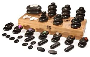 Hot Stones, 64pc set with display box