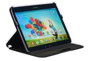 Die original GeckoCovers Samsung Galaxy Tab 3 10.1 Hülle Case Cover Tasche mit Aufsteller - Slimfithülle - Mit original Gecko Applikation und Stand - und Präsentationsfunktion sowie Slimfit Design und Click-In System (Galaxy Tab 3 10.1 schwarz)