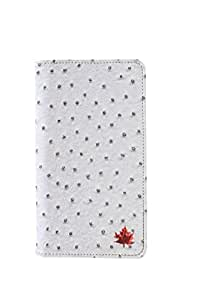 99 Maple pu leather pouch for Intex Aqua Life
