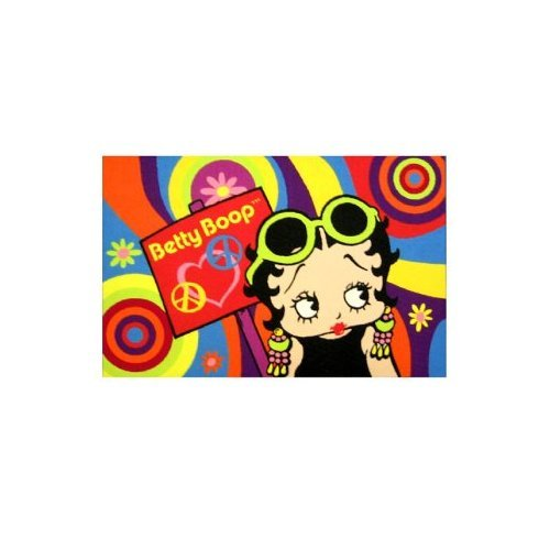 Psychedelic Betty Boop Area Rug - 39