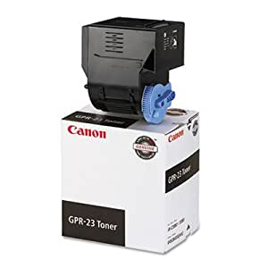 Canon Black Copier Toner for Imagerunner, GPR-23 (CNM0452B003AA) Category: Laser Toner Cartridges