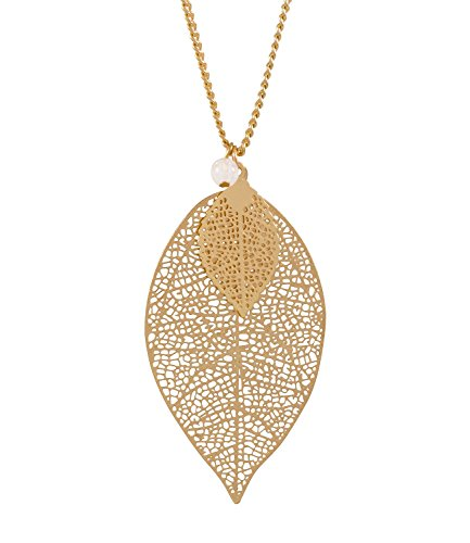 six-herbst-damen-halskette-goldene-kette-mit-filigranen-blatt-anhangern-kleine-weisse-perle-421-624