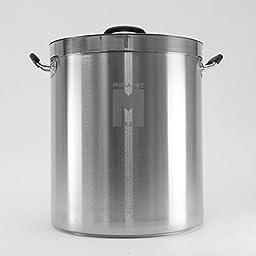 MegaPot 1.2 Stainless Steel Brew Kettle Pot - 15 Gallon / 60 Quart