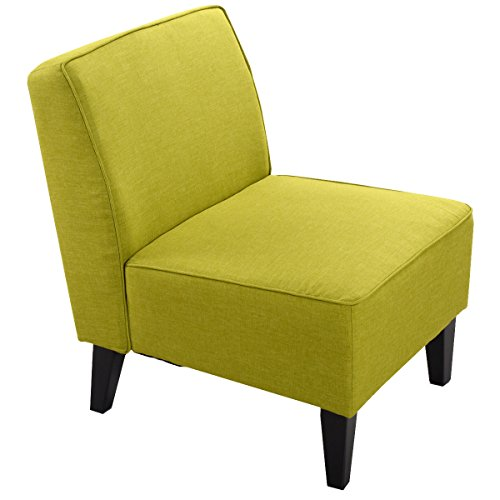 Giantex Deco Solids Accent Chair Armless Living Room