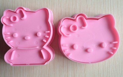 niceEshop(TM) 1Set Hello Kitty Cookie Cutter Cake Mould Mold-Pink