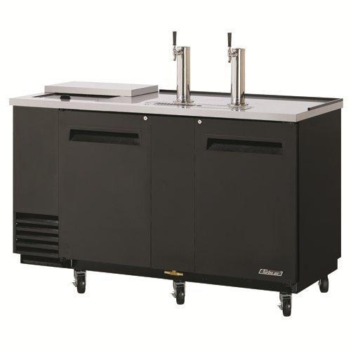 "Turbo Air Tcb-3Sb 69.12"" Draft Beer System W/ (3.5) Keg Capacity - (2) Columns, Black, 115V, Each"