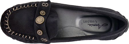pictures of Annie Women's Driven,Black Suede PU,US 6 M