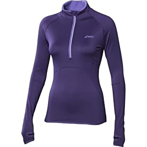 ASICS Women's WINTER Half Zip T-shirt Course à Pied - XL