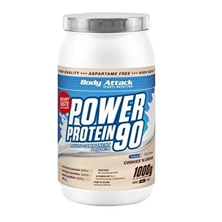 Body Attack Power Protein 90 1000g Dose Vanille
