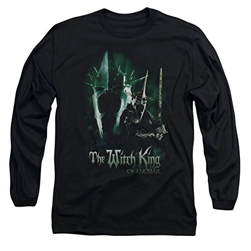The Lord of The Rings Movie Witch King Adult Long Sleeve T-Shirt Tee
