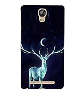 Shining Dear in the Night 3D Hard Polycarbonate Designer Back Case Cover for Gionee Marathon M5 Plus