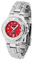 Texas Tech Red Raiders NCAA Womens Steel Anochrome Watch
