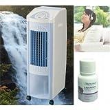 アロマ付抗菌消臭光触媒空気清浄機付多機能健康スリム冷風扇機 fiftsiac05