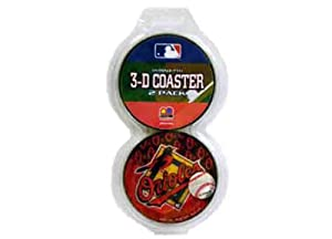 Baltimore Orioles 3-D 2Pk Coasters Case Pack 72