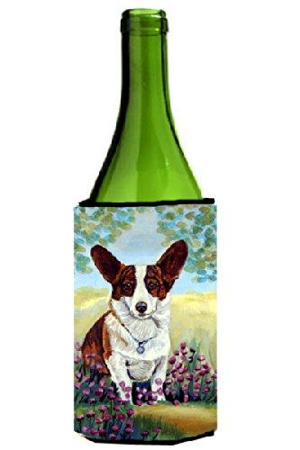 Cardigan Corgi Wine Bottle Koozie Hugger