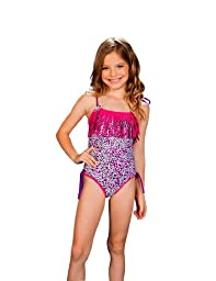 Chikolat Kids Beachwear Girls Baby 18-24m - 5t One Piece \