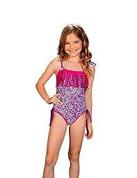 Chikolat Kids Beachwear Girls Baby 18-24m - 5t One Piece \