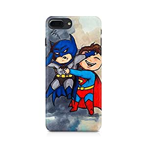 NXT GEN Batman and Superman Kids Premium Printed Mobile Back Case For Apple iPhone 7 Plus
