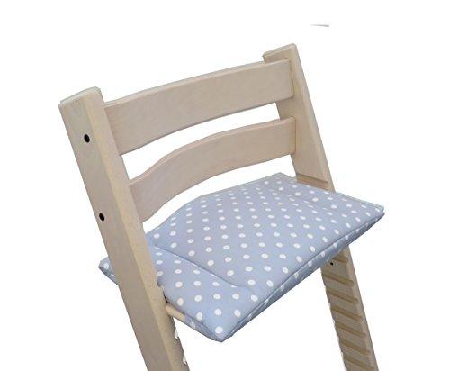 blausberg baby farben f r stokke tripp trapp hochstuhl sitzkissen kissen polster grau. Black Bedroom Furniture Sets. Home Design Ideas