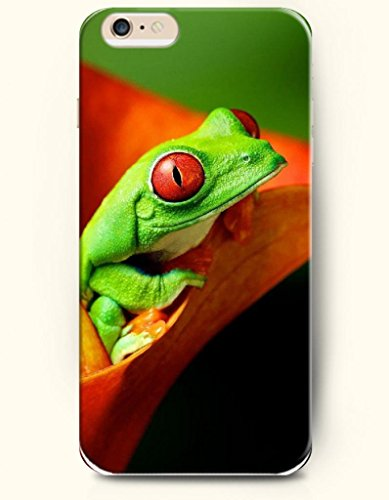 Oofit Apple Iphone 6 Case 4.7 Inches - Cute Frog front-640890