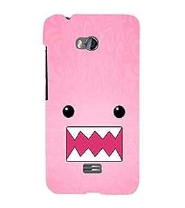EPICCASE Cutie monster Mobile Back Case Cover For Micromax Q336 (Designer Case)