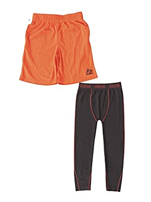 RBX Active Little Boy's Seamless Pant with Short Set