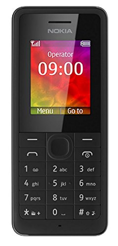 Nokia 106 Unlocked Gsm Dual-Band Cell Phone W/ Sms And Fm Radio - Black