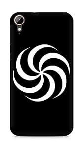 Amez designer printed 3d premium high quality back case cover for HTC Desire 828 (Design 1)