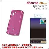 Xperia acro専用ハードコートケース/ピンク
