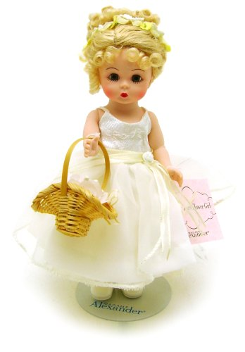 Buy Madame Alexander 8 Inch Special Occasions Collection Doll – Forever Yours Flower Girl- Blonde