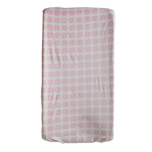 Lolli Living Change Pad Cover, Pink Mod Dot - 1