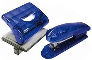 Idena III960006 - Büroset transluzent blau