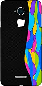 Timpax Protective Armour Case Cover lightweight construction easily slides in and out of pockets. Multicolour Printed Design : Colours of fame.100% Compatible with Coolpad Note 3