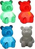 LED Nachtlicht Teddy Farbwechsel Stimmungslicht Kinderlicht nachtlampe schlummerleuchten teddybär
